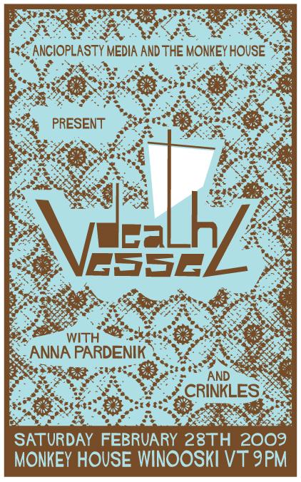 Death Vessel Poster
